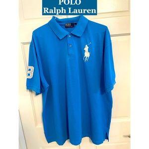 POLO Ralph Lauren Embroidered Pullover Shirt 4XL